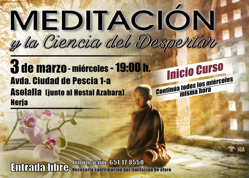 Conferencias en Nerja, Málaga. Relajación, concentración y meditación en Nerja, Málaga, las claves para el despertar de la conciencia