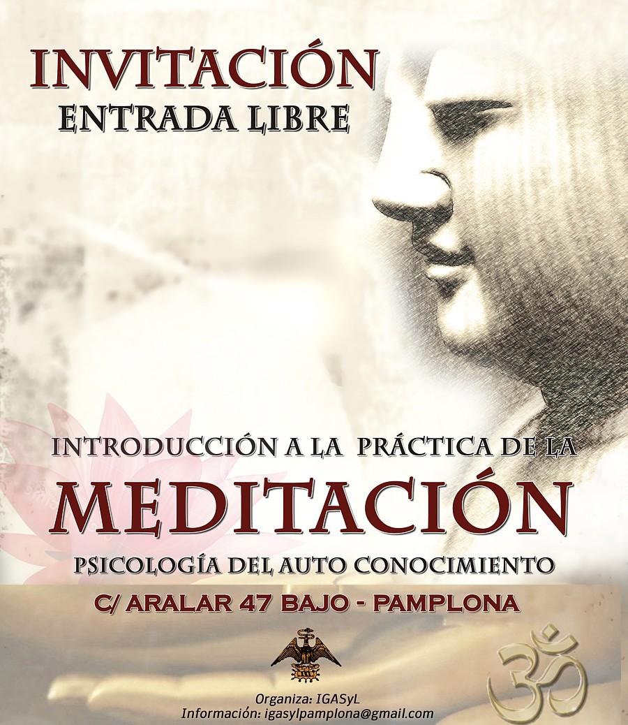 Pamplona, Iruña o Iruñea, Nafarroa: Relajación, concentración y meditación, las claves para el despertar de la conciencia