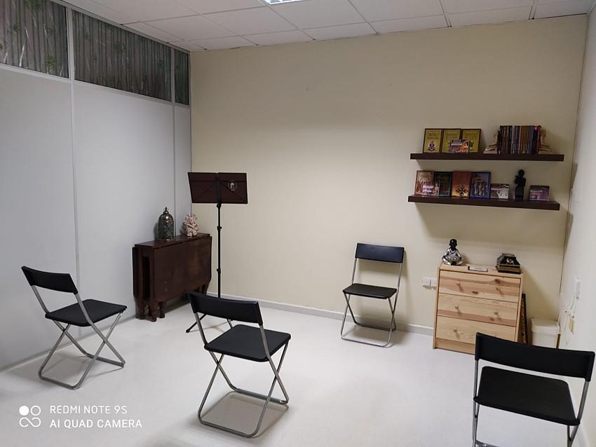 Sala de conferencias de gnosis y meditación en Sevilla